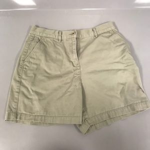 Lauren Ralph Petite 6P Girls Juniors Khaki Shorts
